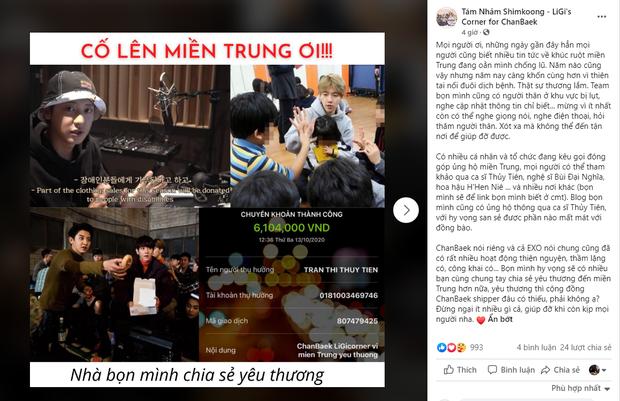 FC BLACKPINK, BTS, Suju và loạt fandom Việt cứu trợ miền Trung: Con số lên đến hơn 100 triệu, hành động đẹp đánh bay định kiến về fan Kpop! - Ảnh 10.