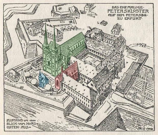 Thảm họa Erfurter Latrinensturz: 60 quan chức, quý tộc rơi xuống hầm phân rồi chết ngạt khi đang họp - Ảnh 1.