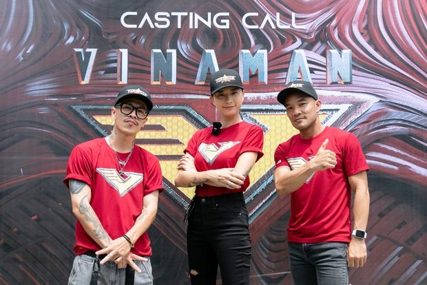 Tập đoàn nam thần showbiz Việt đổ bộ buổi casting phim siêu anh hùng VINAMAN, netizen chấm nhất Vĩnh Thụy rồi nhé! - Ảnh 2.