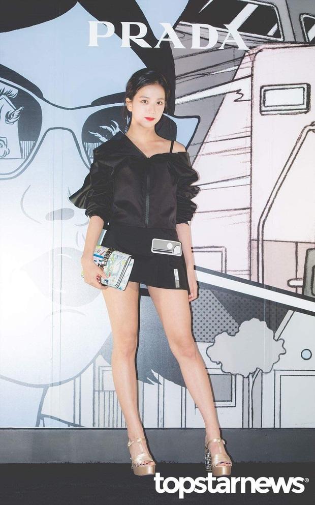 Nữ thần Jisoo (BLACKPINK) hiếm hoi dự sự kiện: Sang như tiểu thư quý tộc, đèn flash phải chịu thua, bảo sao được gọi là Hoa hậu - Ảnh 4.