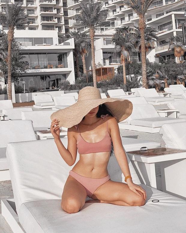 Series ảnh bikini chặt chém của gái xinh Việt làm tiếp viên hàng không tại Dubai: Body không mỡ thừa, sexy trọn điểm - Ảnh 11.