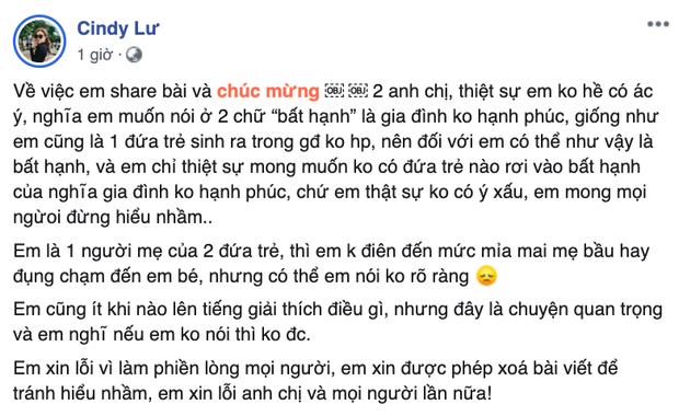 Bị chỉ trích có lời chúc kém duyên dành cho con của Đông Nhi - Ông Cao Thắng, vợ cũ Hoài Lâm nói gì? - Ảnh 3.