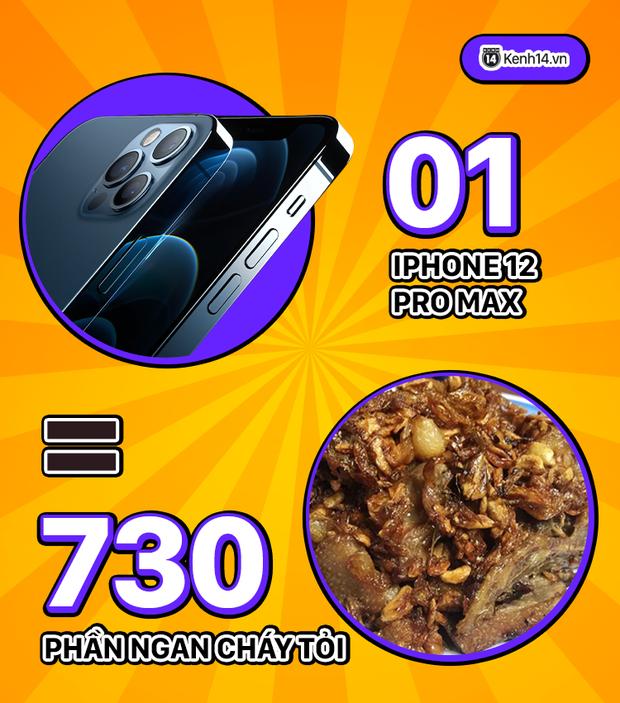 Đừng mua iPhone 12 mà hãy để tiền đi ăn vặt, thử xem ăn được những gì? - Ảnh 2.