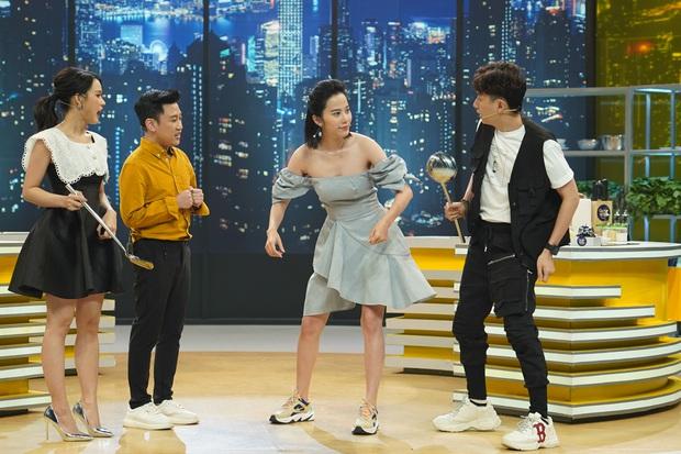 Quá dư năng lượng, Nam Em được yêu cầu ngưng diễn xiếc trên show truyền hình - Ảnh 3.