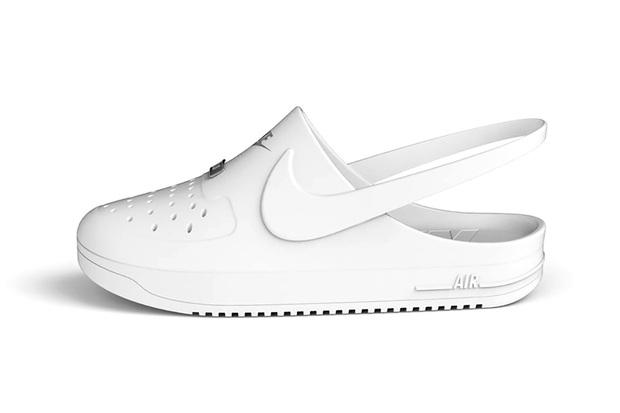 Liệu bạn có muốn diện thử đôi Crocs x Nike Air Force 1 này không? - Ảnh 1.
