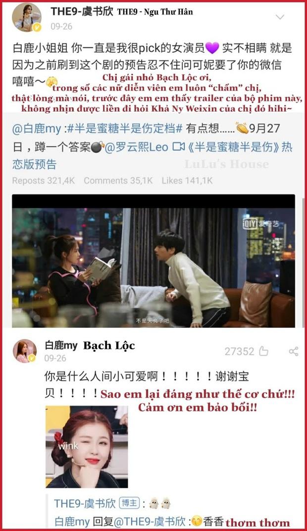 Bạch Lộc: Gà Vu Chính từng bị SM đánh rớt, hay dính dớp cặp kè bạn diễn nhưng lại là hủ nữ chính hiệu nhà EXO - Ảnh 16.