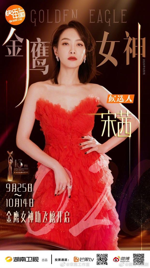 Công bố nữ thần Kim Ưng 2020: Netizen tranh cãi quyết liệt, Đàm Tùng Vận lẫn Thánh lố đều bị đánh bại đáng tiếc - Ảnh 1.
