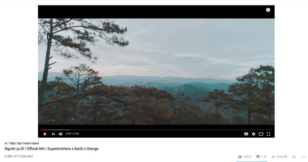Người Lạ Ơi âm thầm cán mốc 200 triệu view, Karik chính là người sở hữu sản phẩm thành công nhất dàn HLV lẫn Giám khảo Rap Việt! - Ảnh 3.