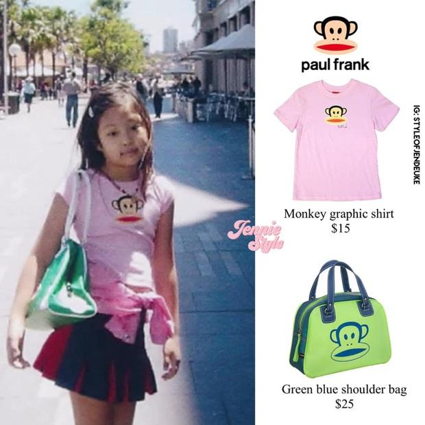 Jennie (BLACKPINK) gây sốt với loạt ảnh ấu thơ: Ra dáng Fashionista từ bé, còn diện áo có chữ hao hao Đà Nẵng - Ảnh 4.
