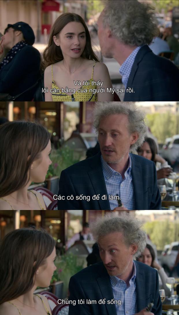 Bạn cần gì mang não khi xem Emily Ở Paris, đôi khi chúng ta chỉ cần thứ gì đó phù phiếm vui vẻ vì cuộc đời ngoài kia vốn đau não lắm rồi! - Ảnh 10.