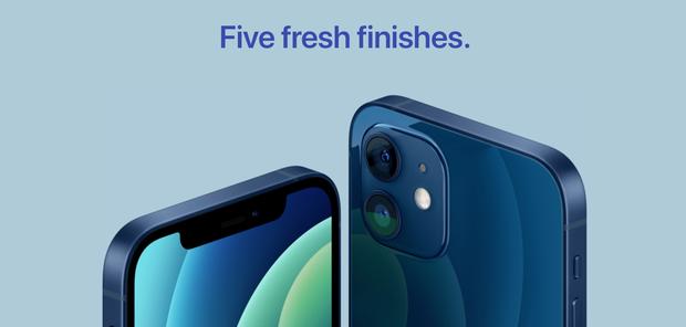 iPhone 12 có 2 màu mới: xanh navy và xanh lục - Ảnh 4.