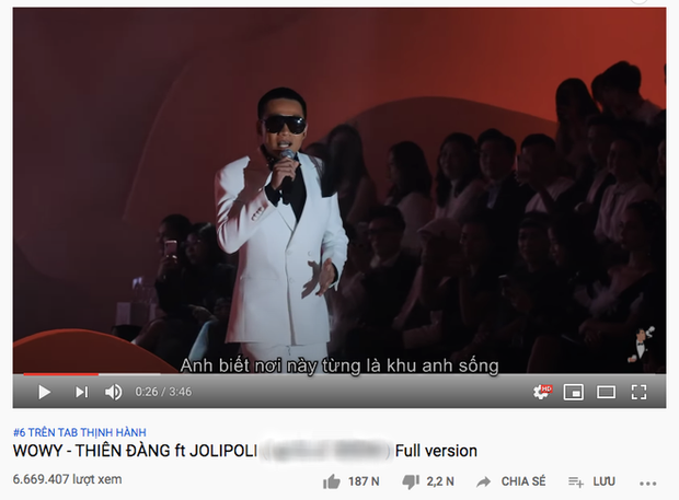 Trót dại tuyên bố làm lễ tặng giày nếu đạt #1 YouTube, Wowy hoảng hốt đăng đàn mong fan ngừng cày view vì leo trending vèo vèo - Ảnh 7.