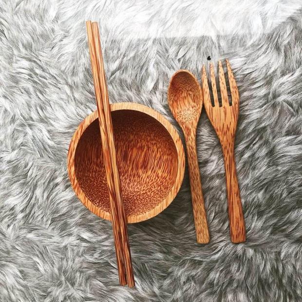 Hô biến căn bếp chuẩn vintage với loạt đồ dùng bằng gỗ cực xinh, nhìn cái là muốn rinh ngay về nhà - Ảnh 9.
