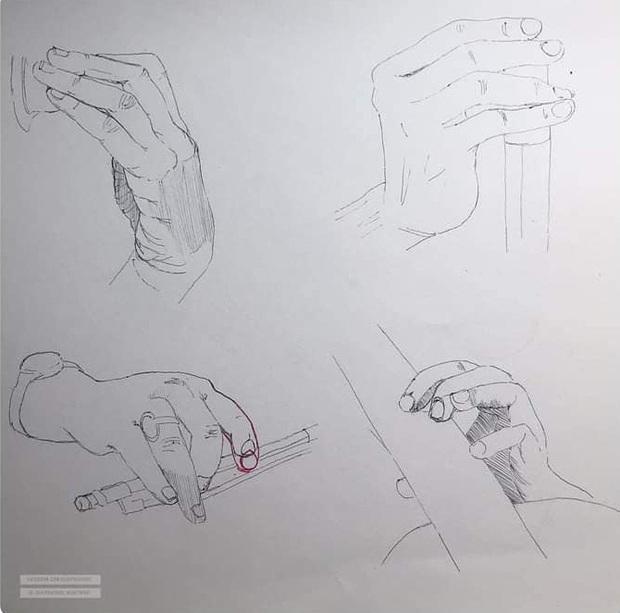 Vẽ chơi chơi vài nét bút bi, nữ sinh khiến dân tình tròn mắt thán phục tranh vẽ tay nhưng y hệt Sách giáo khoa - Ảnh 6.