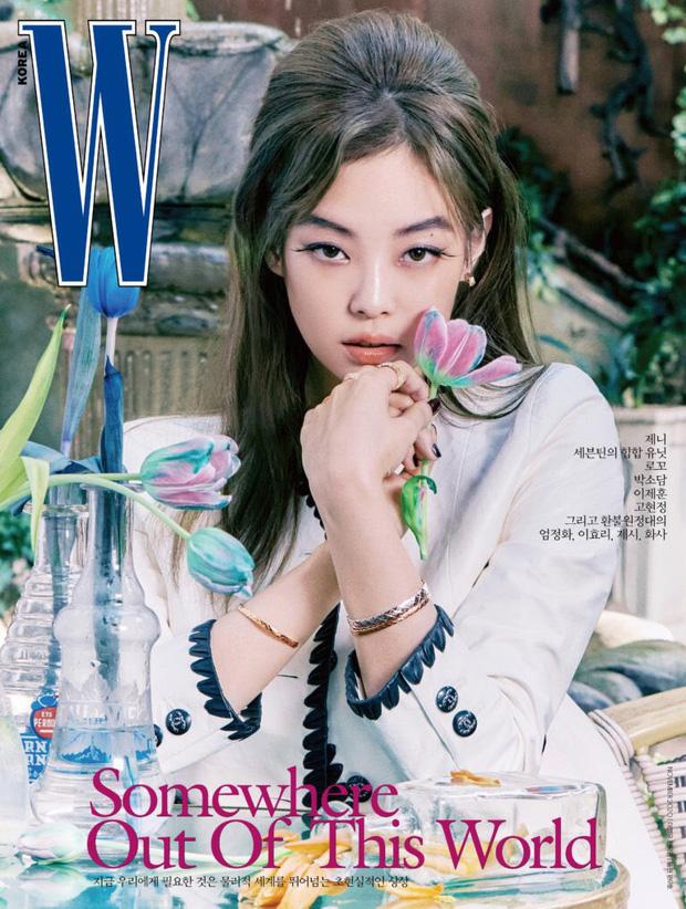 Ảnh tạp chí mới của Jennie (BLACKPINK) gây choáng toàn tập: Tóc Dương Quá hóa quý tộc sang chảnh, nhưng lông mày sao thế này? - Ảnh 3.