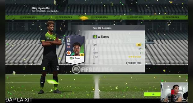 Đại gia nạp tiền tỷ vào FIFA Online 4 livestream phá tài khoản, trước khi nghỉ game còn lên tiếng rất gay gắt - Ảnh 2.