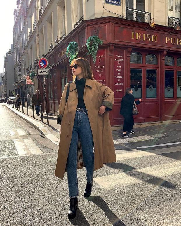 Để có style mùa lạnh thanh lịch như quý cô Paris, bạn chỉ cần có trong tay 6 món đồ - Ảnh 2.