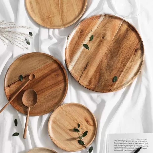 Hô biến căn bếp chuẩn vintage với loạt đồ dùng bằng gỗ cực xinh, nhìn cái là muốn rinh ngay về nhà - Ảnh 11.