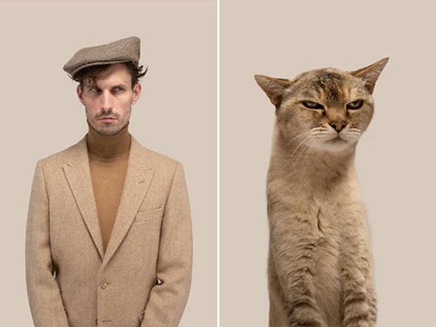 Bộ ảnh chứng minh chủ và thú cưng chung sống càng lâu càng giống nhau - Ảnh 6.