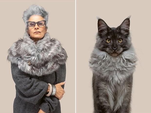 Bộ ảnh chứng minh chủ và thú cưng chung sống càng lâu càng giống nhau - Ảnh 7.