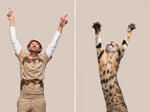 Bộ ảnh chứng minh chủ và thú cưng chung sống càng lâu càng giống nhau - Ảnh 10.