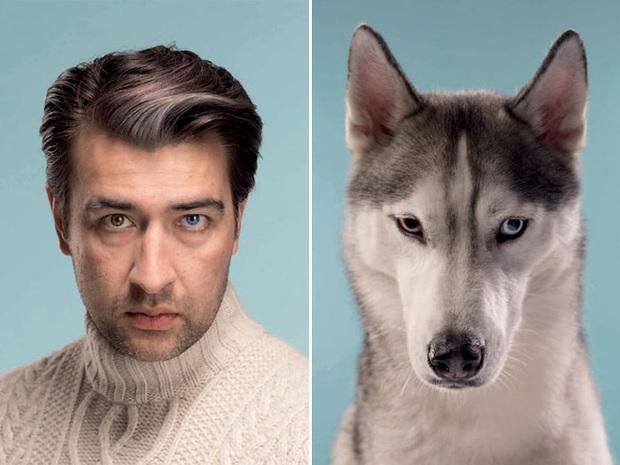 Bộ ảnh chứng minh chủ và thú cưng chung sống càng lâu càng giống nhau - Ảnh 18.