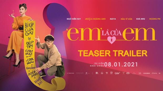 Gái xinh lấp ló ở teaser Em Là Của Em khiến netizen thắc mắc: Jessica là ai mà vai vế ngang hàng trên poster với Ngô Kiến Huy vậy cà? - Ảnh 8.