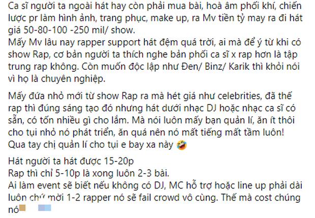 Người trong ngành bức xúc vì dàn thí sinh show Rap đang hot hét giá trên trời, cao hơn cả Quán quân The Voice? - Ảnh 1.