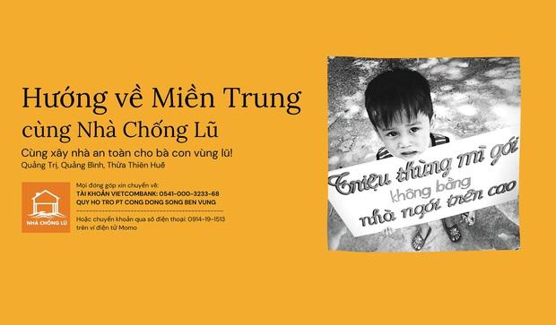 Dự án Nhà Chống Lũ phát huy tác dụng: Nhiều bà con miền Trung vượt qua lũ lụt; tiếp tục triển khai ở Huế, Quảng Trị và Quảng Nam - Ảnh 1.