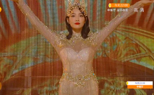 Hé lộ màn trình diễn của Nữ thần Kim Ưng 2020: Body bị dìm vì chiếc váy thảm hoạ, biểu cảm đơ như tượng sáp - Ảnh 7.