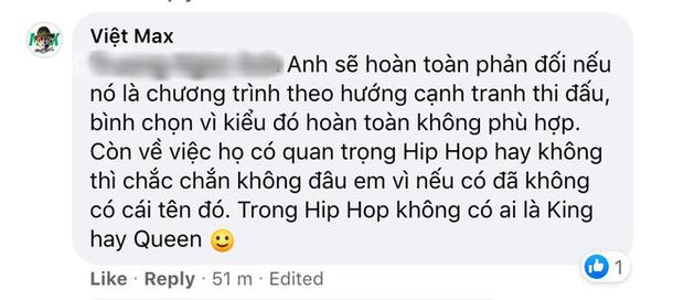 Giữa bão phản đối King Of Rap Kids, Việt Max khẳng định không nên phán xét sớm nhưng sẽ phản đối nếu để trẻ con cạnh tranh thi đấu - Ảnh 7.