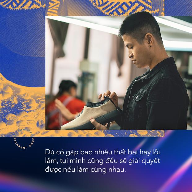 Start-up Việt lọt top Forbes 30 Under 30 Châu Âu với những đôi giày từ chai nhựa và bã cafe: Điều kỳ diệu đến từ bản lĩnh, không phải may mắn - Ảnh 12.