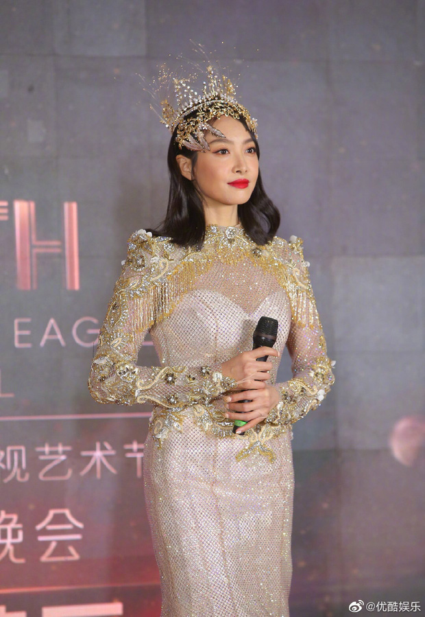 Cuối cùng Nữ thần Kim Ưng 2020 đã lộ diện: Victoria ngộp thở, thảm hoạ từ hậu trường đến sự kiện, còn bị tố đạo nhái - Ảnh 4.