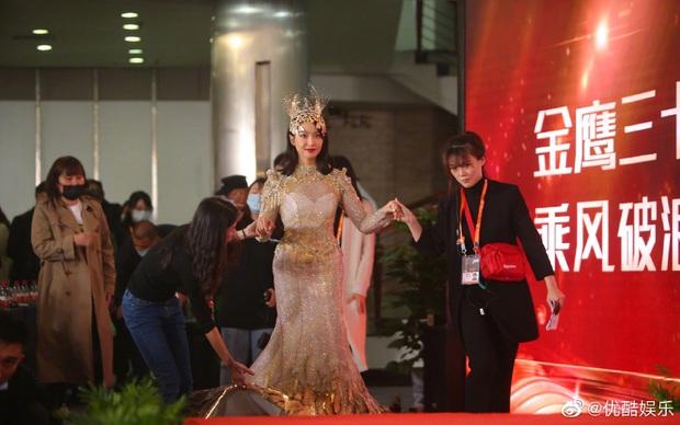 Cuối cùng Nữ thần Kim Ưng 2020 đã lộ diện: Victoria ngộp thở, thảm hoạ từ hậu trường đến sự kiện, còn bị tố đạo nhái - Ảnh 6.