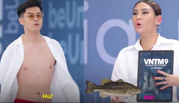 Hậu duệ cá hú khẳng định chắc nịch sẽ thành Quán quân Vietnams Next Top Model mùa 9 - Ảnh 1.