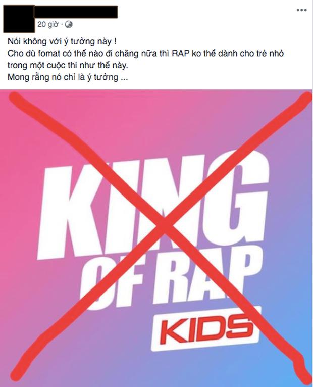 Giữa bão phản đối King Of Rap Kids, Việt Max khẳng định không nên phán xét sớm nhưng sẽ phản đối nếu để trẻ con cạnh tranh thi đấu - Ảnh 3.