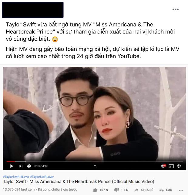 Bức ảnh hot nhất hôm nay: Uyên Linh và Thái Vũ chụp hình chung làm fan Taylor Swift tại Việt Nam được phen sống trong sợ hãi - Ảnh 7.