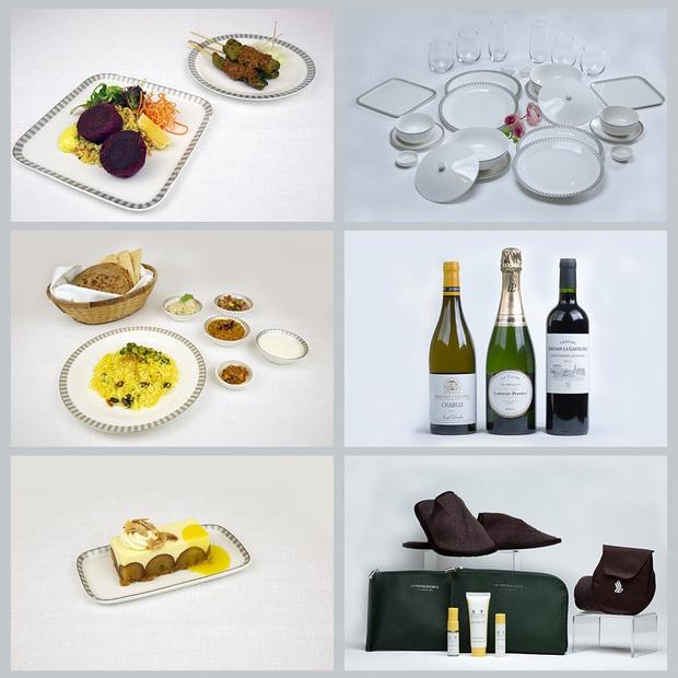Món ăn hạng thương gia nhìn sợ hết hồn của Singapore Airlines, nếm thử thì ngon hết nấc - Ảnh 1.