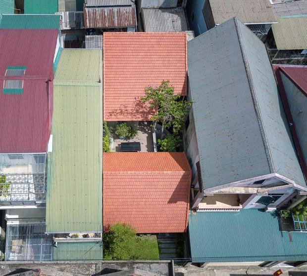 Bước vào ngôi nhà trong ngõ rộng 3m được phủ xanh bằng cây cối, ai cũng thích thú với chiếc cầu thang cực hợp sống ảo - Ảnh 2.