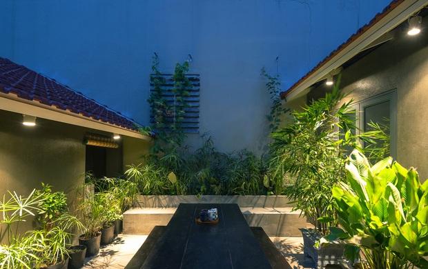 Bước vào ngôi nhà trong ngõ rộng 3m được phủ xanh bằng cây cối, ai cũng thích thú với chiếc cầu thang cực hợp sống ảo - Ảnh 3.