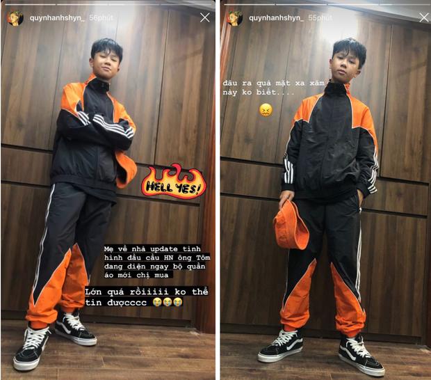 Đến Quỳnh Anh Shyn cũng bất ngờ khi em trai 10X của trổ mã thành hot boy: Lớn quá rồi không thể tin được - Ảnh 1.