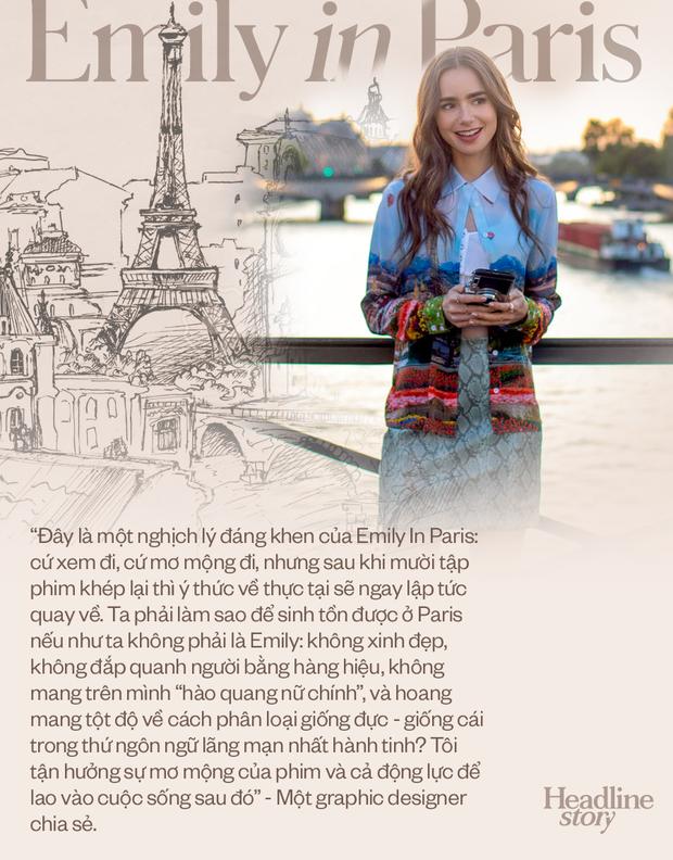 Giữa hiện thực đầy khắc nghiệt và đen tối, Emily In Paris là câu chuyện cổ tích hoang đường mà khán giả toàn cầu cần được đắm chìm? - Ảnh 14.