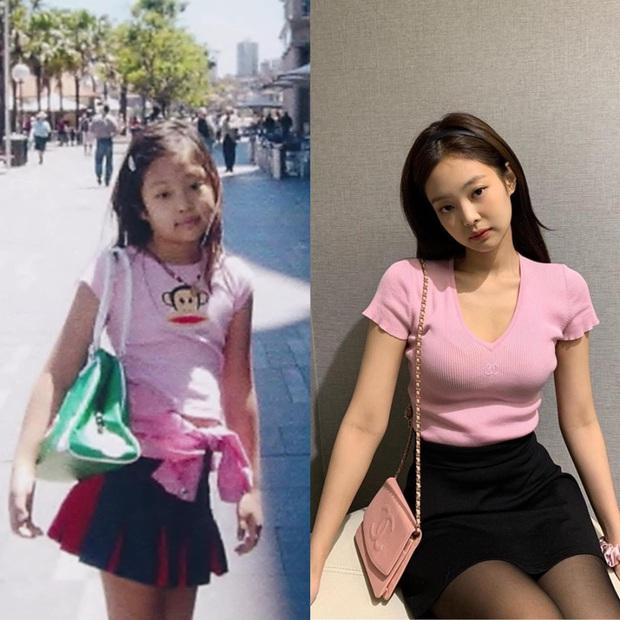 """Lỡ công khai ảnh hồi nhỏ, Jennie bỗng trở thành gương mặt bị netizens """"biến hoá khôn lường"""", viral khắp MXH chỉ sau 1 đêm - Ảnh 16."""