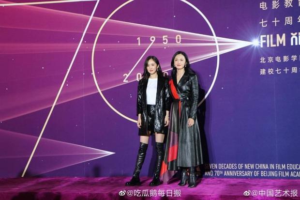 Sao khủng đổ bộ lễ kỷ niệm 70 năm Học viện Điện ảnh Bắc Kinh: Dương Mịch - Dương Tử đọ sắc, đôi chân của Quan Hiểu Đồng gây bão - Ảnh 5.