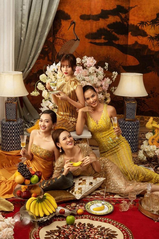 6 hội bạn nữ quyền oanh tạc phim Việt: Băng đảng nào cũng dư thừa nhan sắc, không giàu có cũng cực tài giỏi nha! - Ảnh 12.