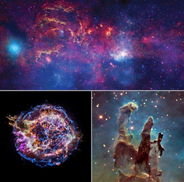 Cùng nghe thứ âm thanh tuyệt diệu của vũ trụ, được tạo ra từ loạt ảnh chụp Dải Ngân hà của NASA - Ảnh 2.