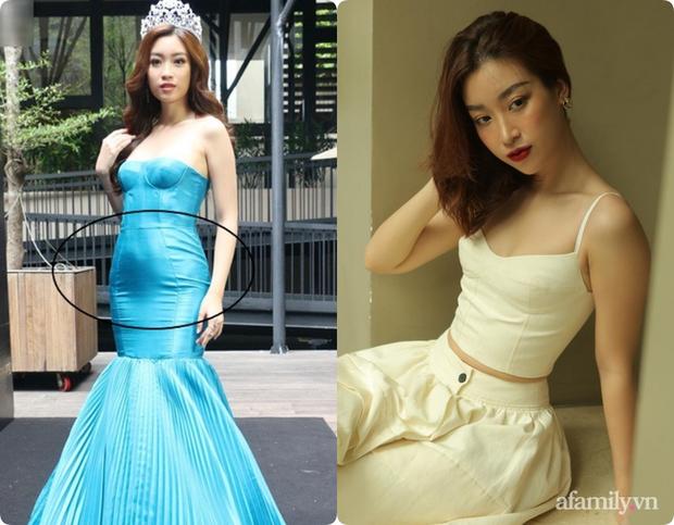 Không chỉ Nữ thần Kim Ưng Tống Thiến, nhiều sao Việt cũng bị lộ bụng vì váy đuôi cá - Ảnh 4.