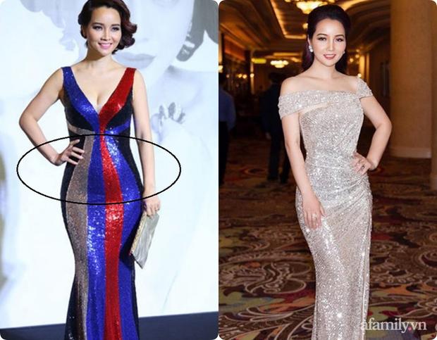 Không chỉ Nữ thần Kim Ưng Tống Thiến, nhiều sao Việt cũng bị lộ bụng vì váy đuôi cá - Ảnh 7.