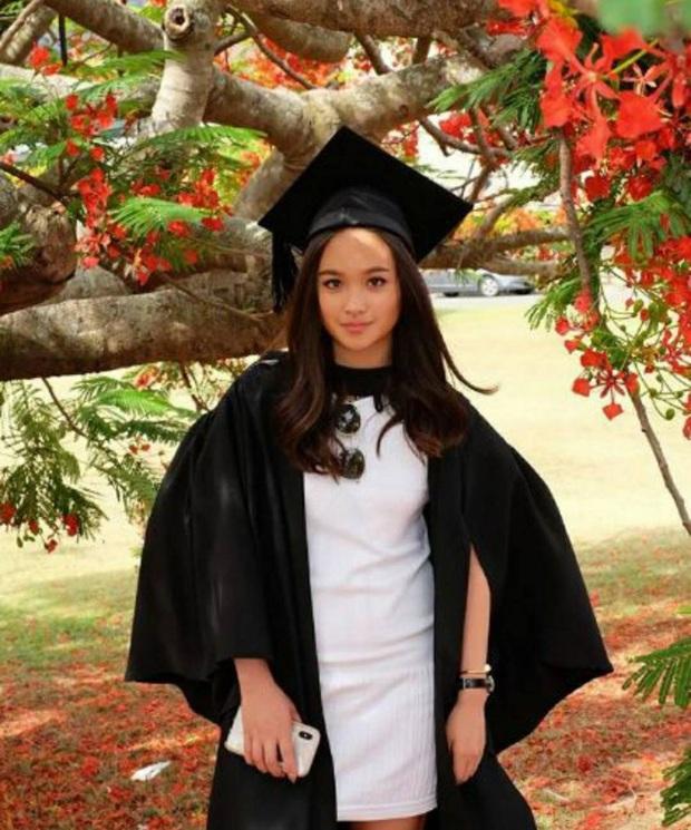 Ái nữ nhà chủ tịch đội bóng Thái Lan gây sốt với nhan sắc xinh đẹp, là du học sinh ở Úc và được kỳ vọng sẽ nối nghiệp của mẹ - Ảnh 4.