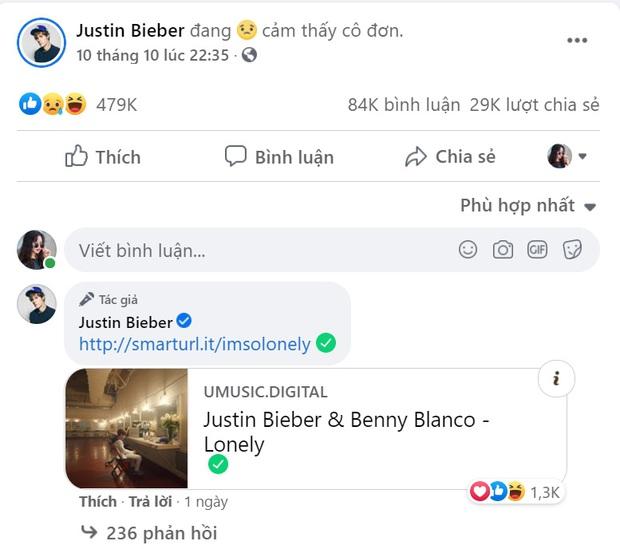 Justin Bieber hết bị đuổi khỏi nhà giờ lại cô đơn thảm thiết: Album mới phải chăng mang màu sắc u tối? - Ảnh 1.